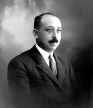 D. Eduardo Tarquis Rodríguez. Presidente de la RACBA entre 1926 y 1948.