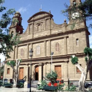 Iglesia parroquial de Santiago de los Caballeros. Gáldar.