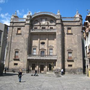 Catedral de Santa Ana. Fachada a la plaza de Pilarillo Seco.