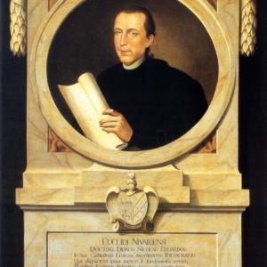 Luis Paulino de la Cruz y Ríos, Proyecto de monumento funerario de Diego N. Eduardo, óleo sobre lienzo. h. 1799.