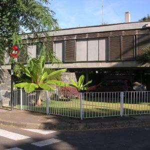 Cuatro viviendas en el Camino Largo. Paseo de la Universidad. La Laguna. 1963 (Foto: F. García Barba)