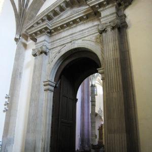 Portada interior de la Capilla del Sagrario en la Catedral de Santa Ana. Las Palmas de Gran Canaria, 1804