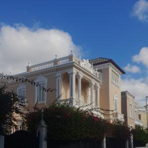 Casa Maffiotte. Jesús y María. Santa Cruz de Tenerife, 1926. (Foto: F. García Barba)
