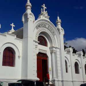 Cementerio de Santa Lastenia. Santa Cruz de Tenerife, 1926. (Foto: F. García Barba)