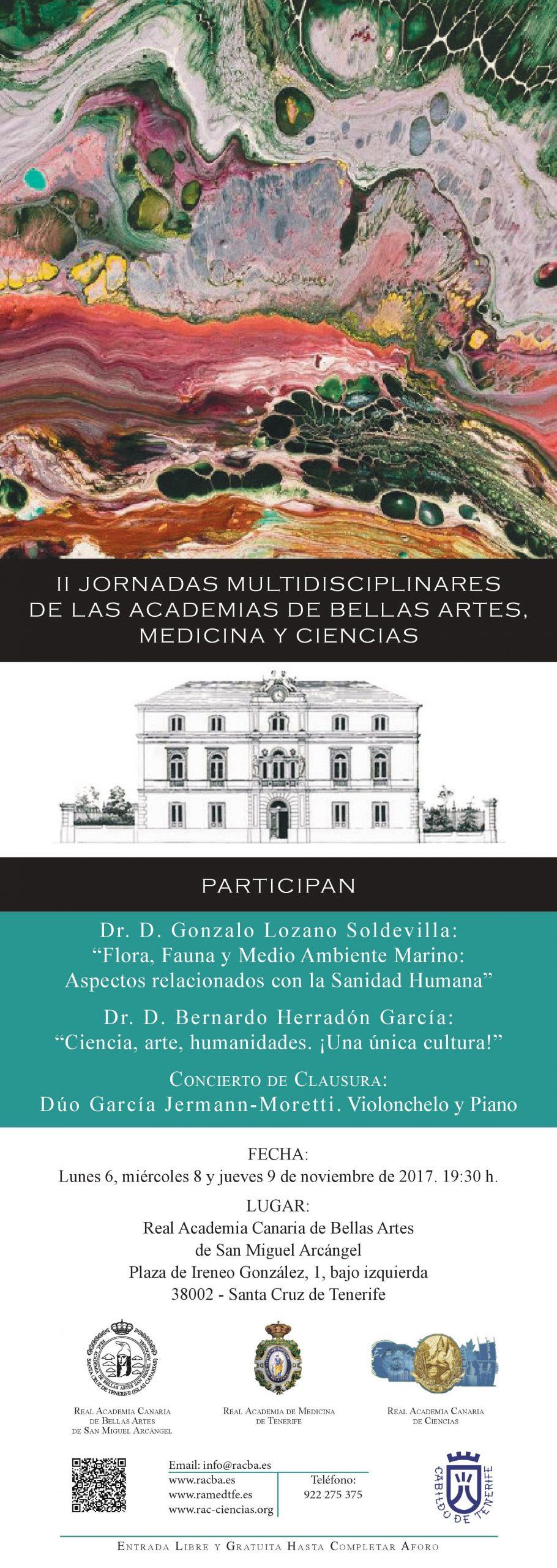 Cartel_Jornadas_Multidisciplinares_entre_las_tres_Reales_Academias_canarias